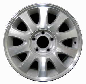 Plymouth Chrysler TOWN-AND-COUNTRY, Aluminum Wheel OEM Rims