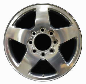 GMC Chevrolet Silverado-HD, Aluminum Wheel OEM Rims